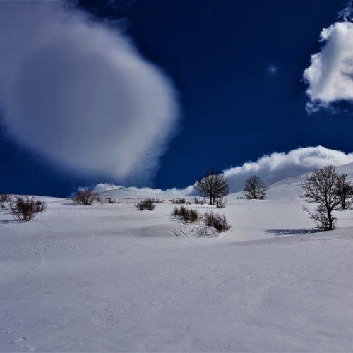 Ski touring Aragats