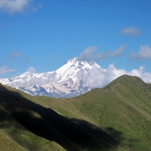 Kazbek from CHaukhi
