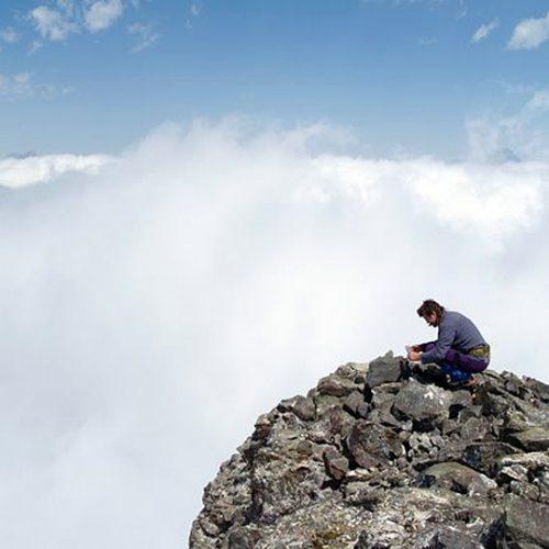 Chaukhi climb