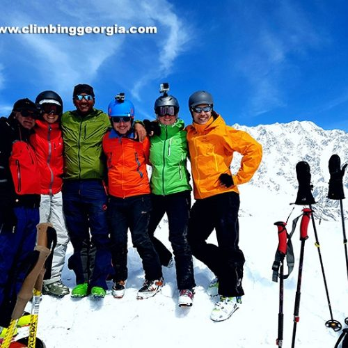 Guided Skitouring Svaneti Ushguli