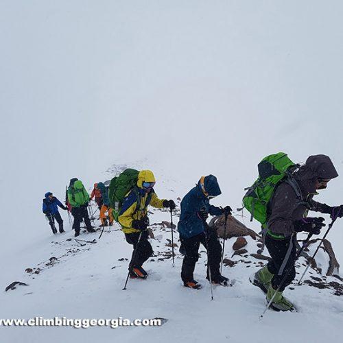 Mount kazbek Guided group