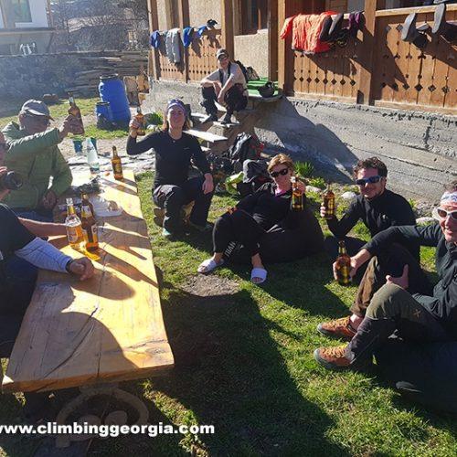 Ski touring Metia