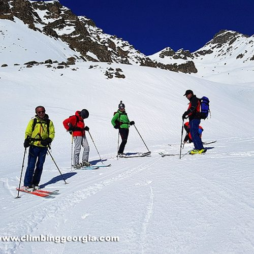 Ski touring Etseri - Svaneti