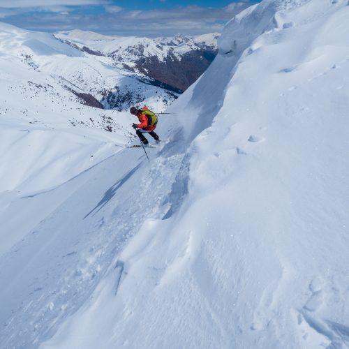 Ski touring Mount Ararat
