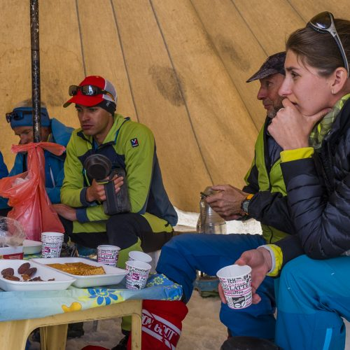 In the Ararat camp