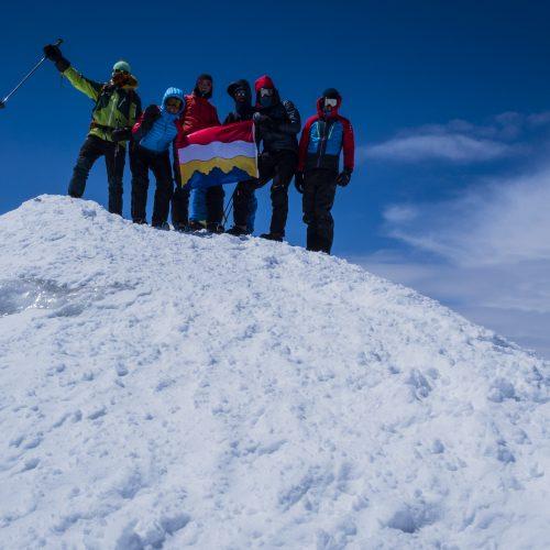 At the summit of Ararat
