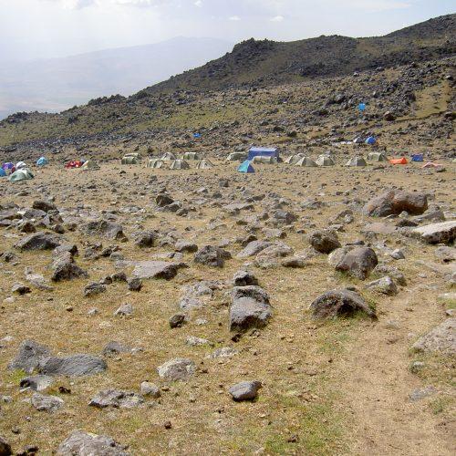 Ararat Base camp