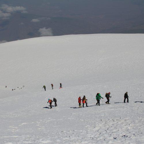 Ski touring group