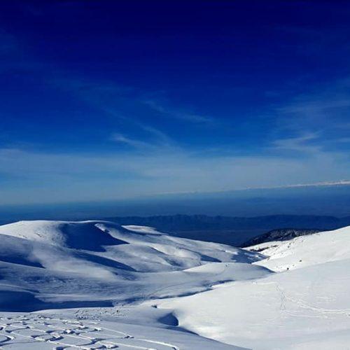Heli skiing in bakhmaro