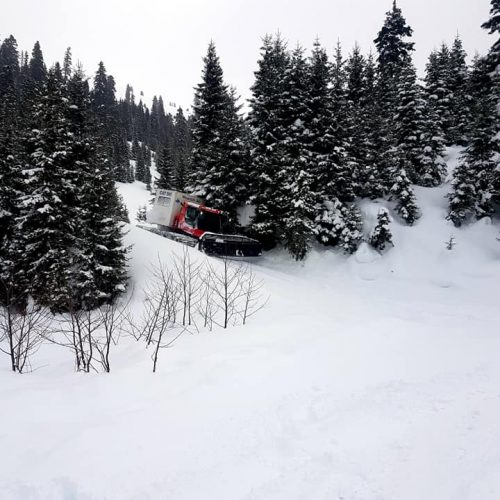 Cat skiing in Bakhmaro, Georgia